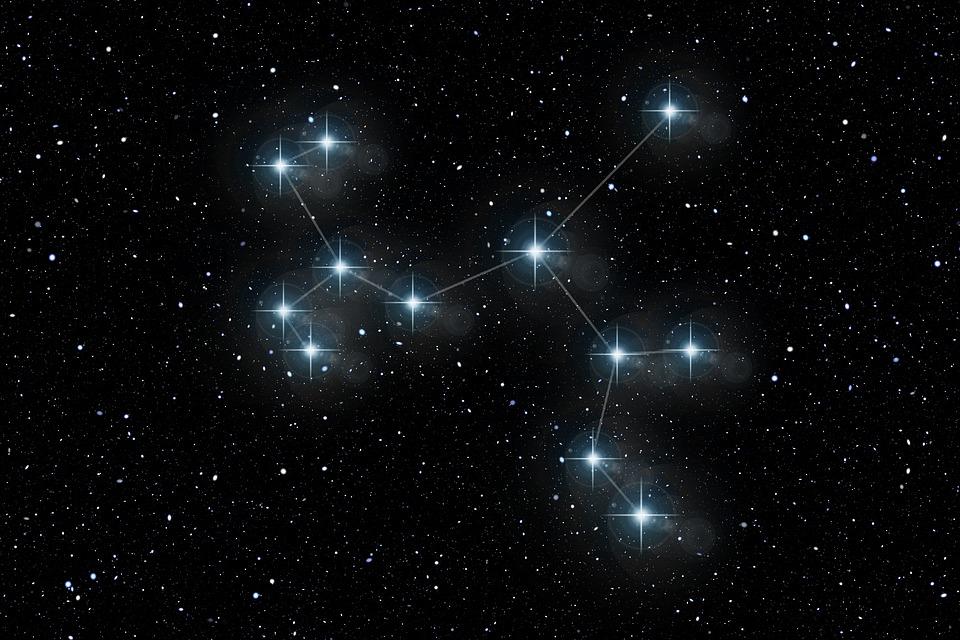 Картинка звездные созвездия