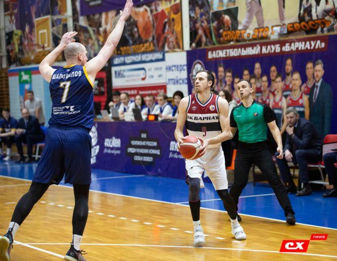 Баскетболисты «Барнаула» разгромили ставропольское «Динамо» - 101:77