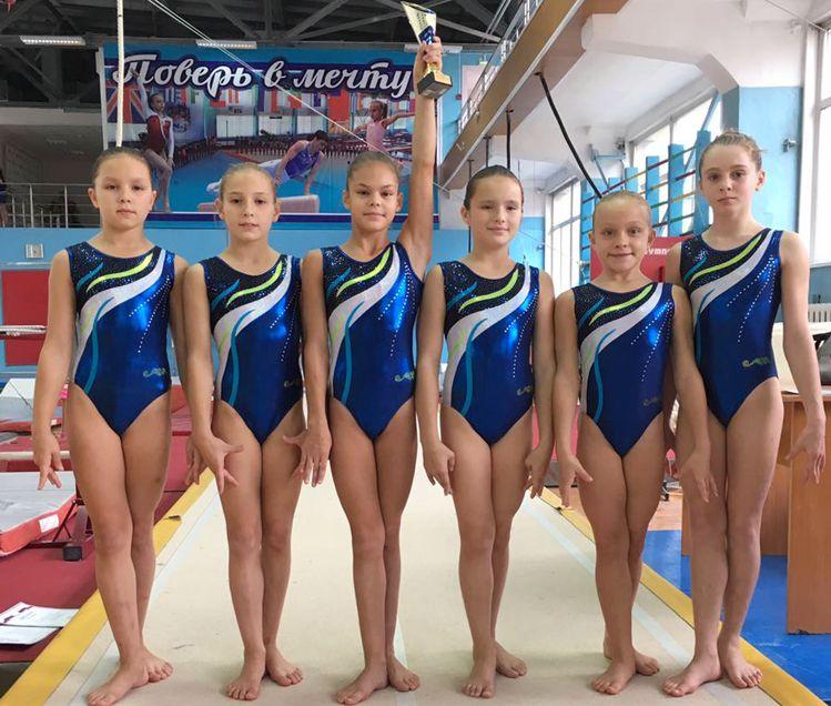 Барнаульские гимнастки прошли отбор на первенство России