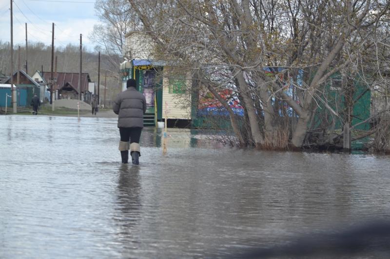 уровень реки обь: