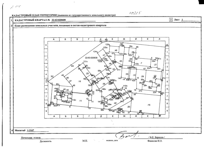 фото кадастровый план территории