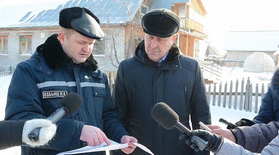 Сергей Дугин: «Будут минимизированы последствия подтопления села Лебяжьего талыми водами»