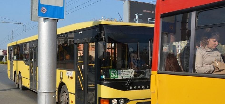 В общественном транспорте смотреть