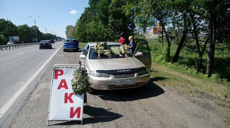 Без масок и разрешений. В Барнауле оштрафуют уличных торговцев