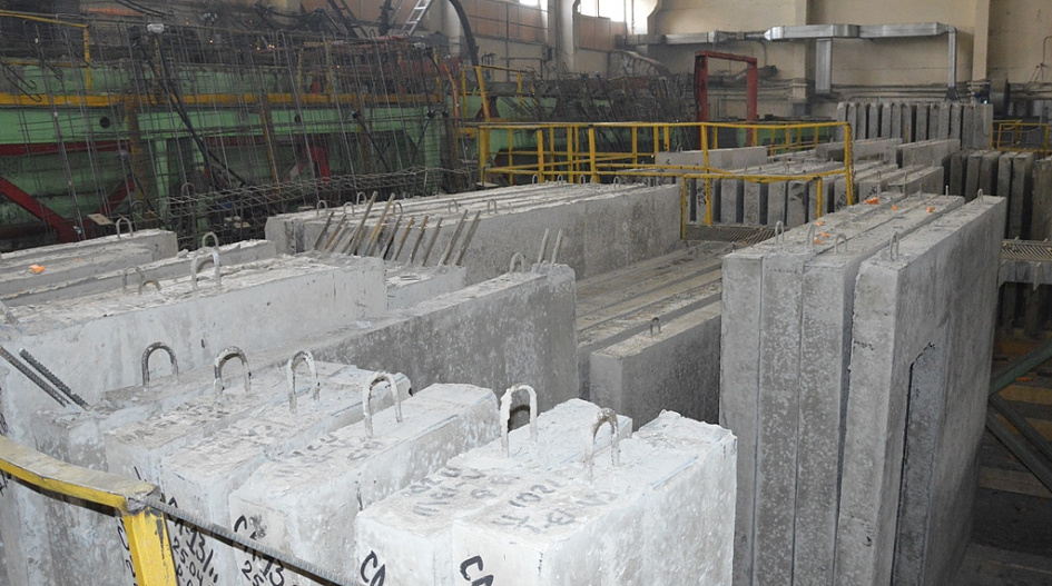 Барнаульском комбинате железобетонных изделий дск жби 3