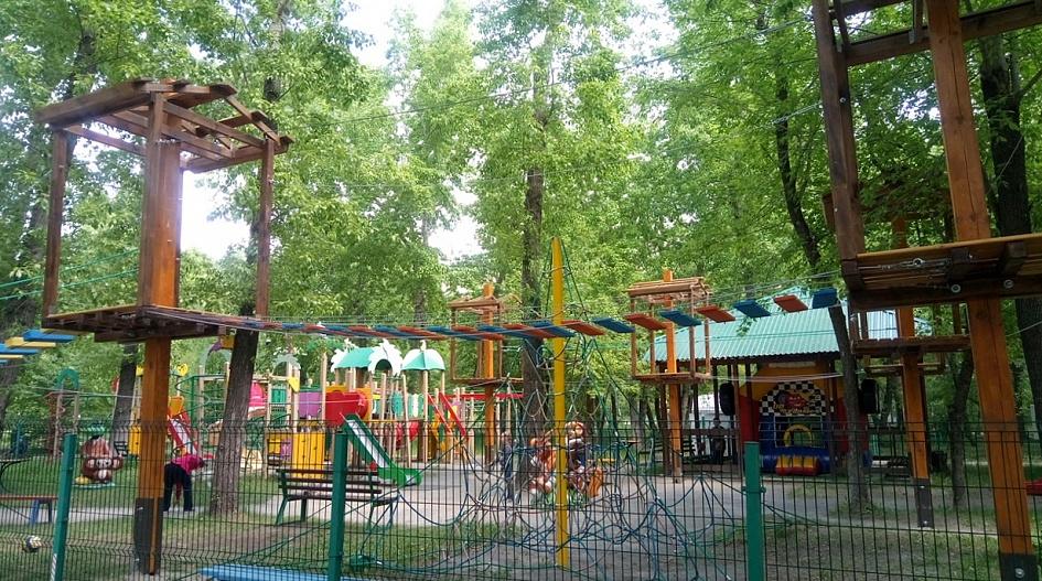 веревочный парк в барнауле фото