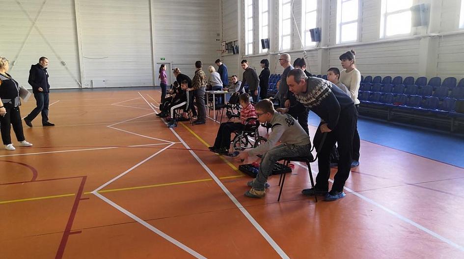 В Барнауле прошли соревнования по бочче среди лиц с ограниченными возможностями здоровья